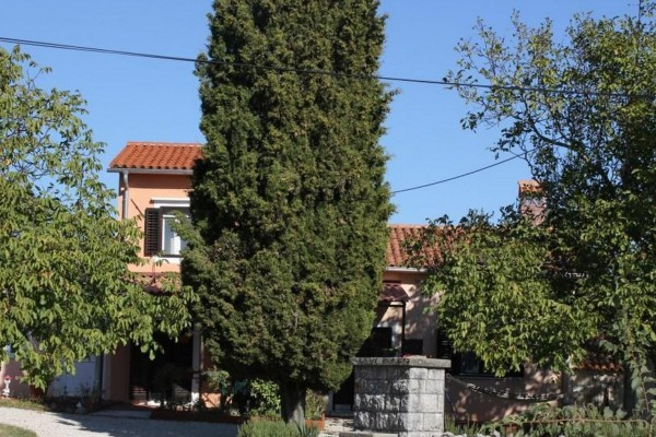 LABIN, ISTRIA, HOUSE WITH LARGE GARDEN